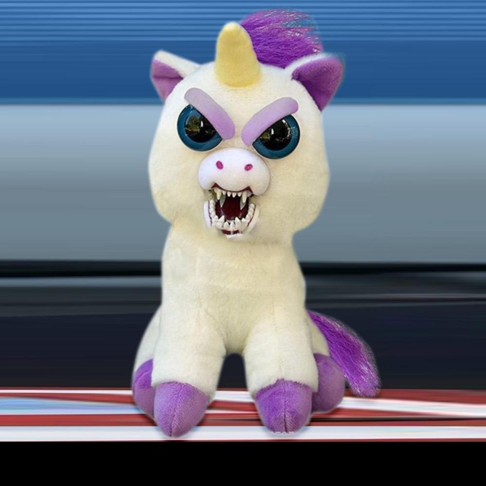 Feisty Pets Unicorn stuffed animal, Unicorn plush, Pet toys