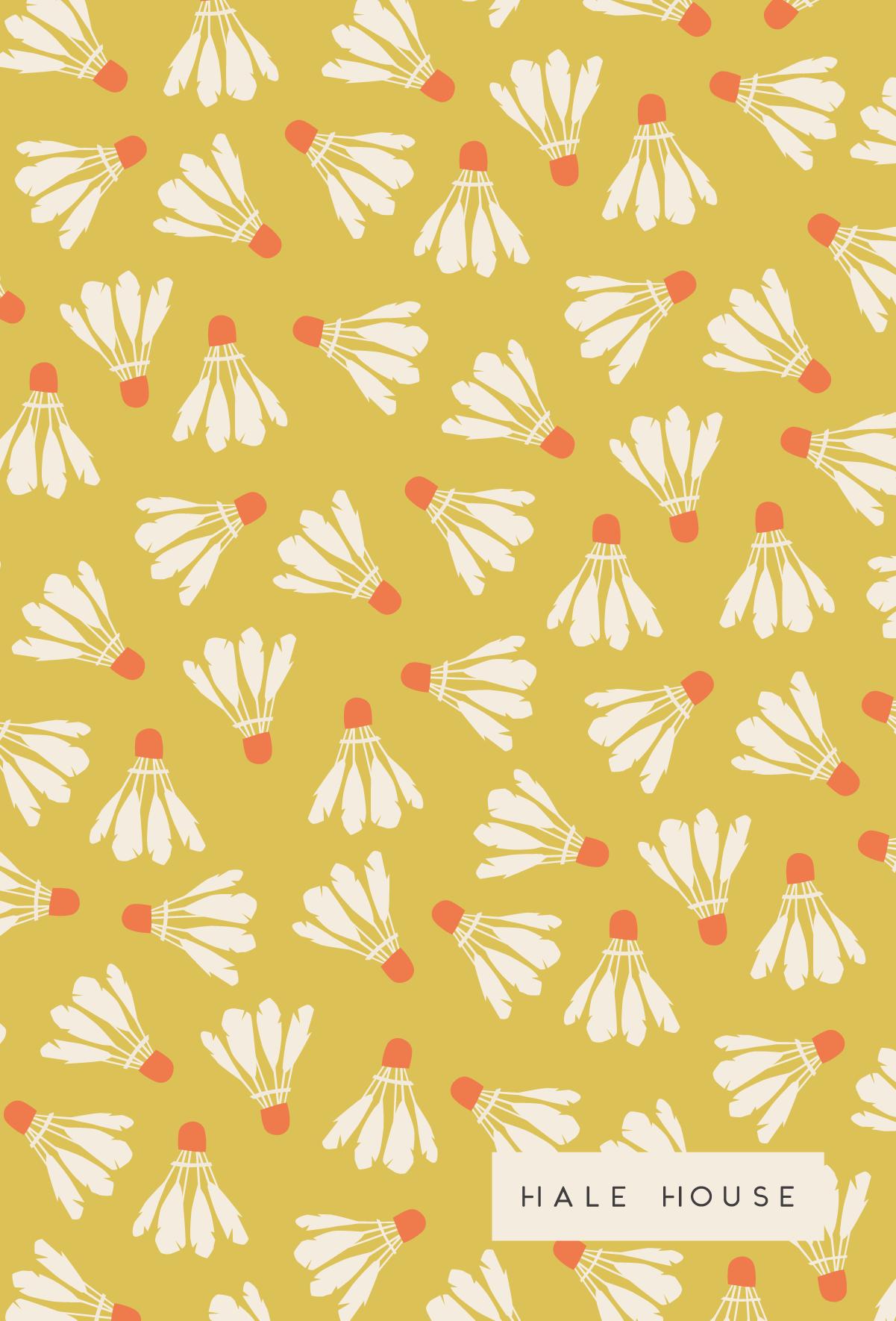 #patterndesign #pattern #shuttlecock #illustration #surfacepatterndesign