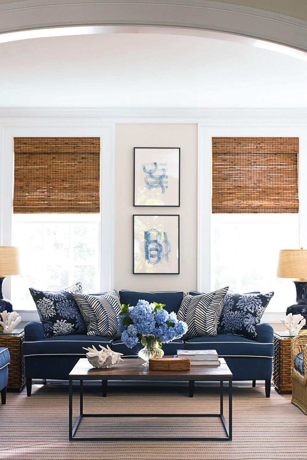 Color Stories Blue In 2020 Cottage Living Rooms