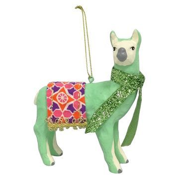 Bright Resin Llama Christmas Ornament - Wondershop™ | C ...
