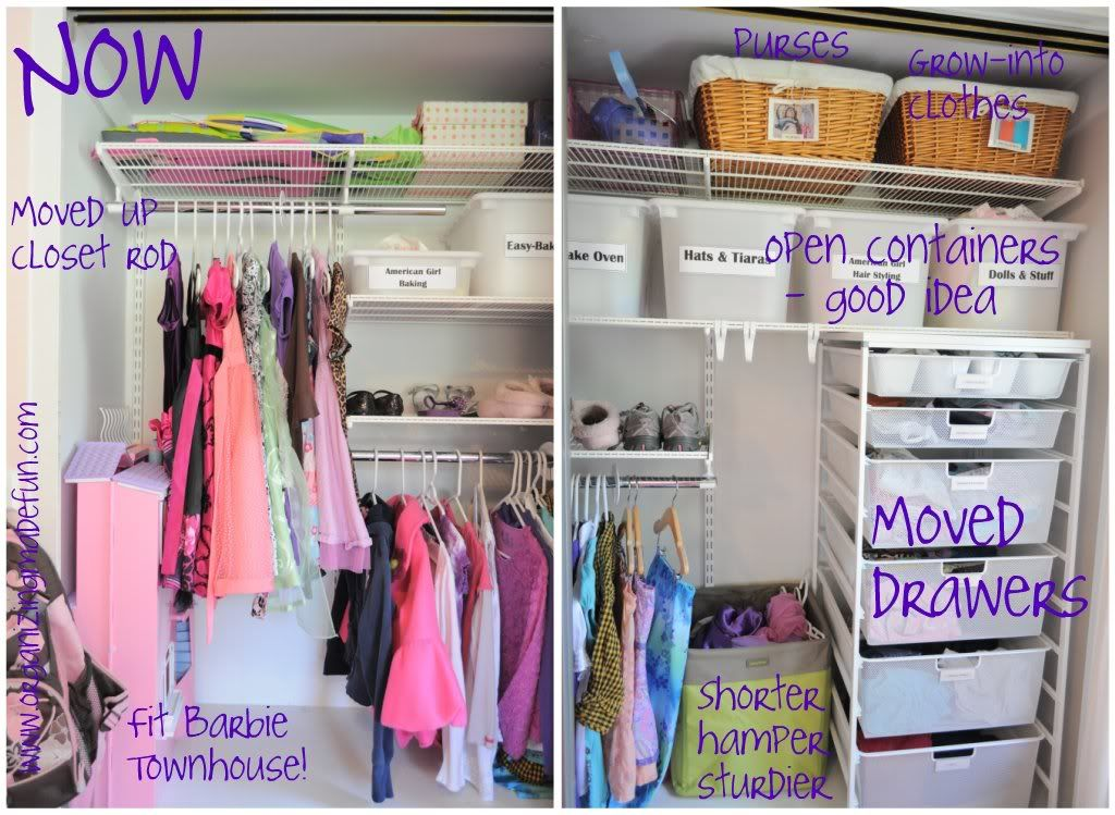 lots and lots of organized closet ideas! | top organizing bloggers