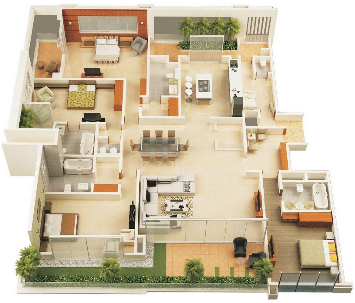 resultado de imagen para planos casas modernas - Planos De Casas Modernas