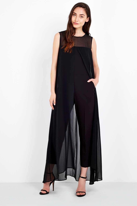 Black Overlay Jumpsuit - Dresses - Clothing. Jumpsuit DressWallisOverlays Dress ...