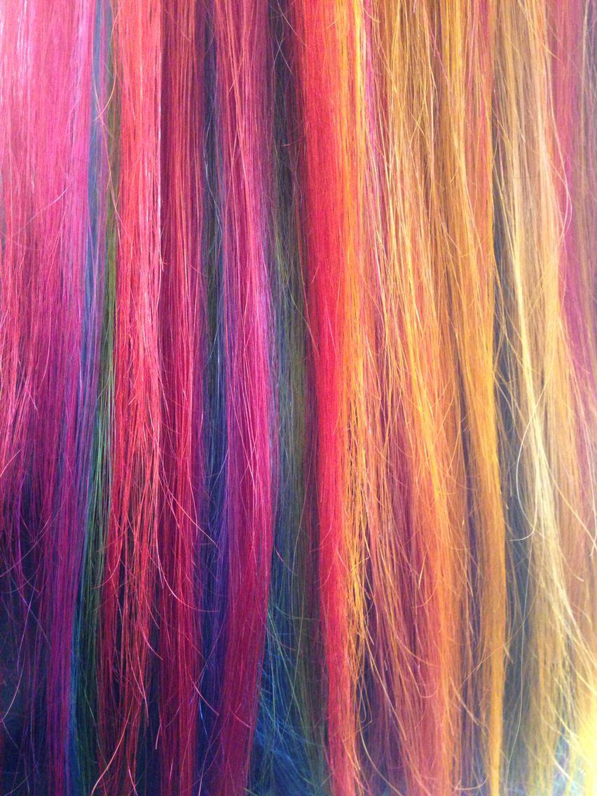 Rainbow Hair By Taylor Lowe At Moxie Hair Salon St Paul Mn Hair