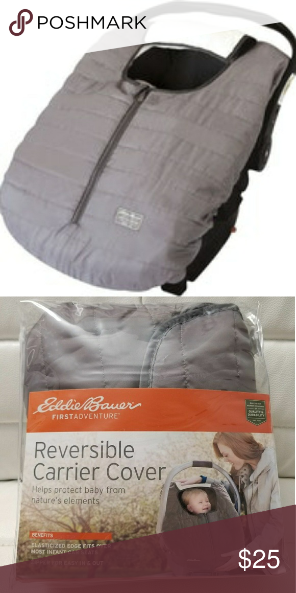 Eddie Bauer Reversible Car Seat Cover Nwt Carseat Cover