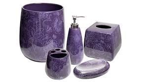 New Way Of Purchasing Purple Bathroom Accessories Sets Shouldn T Missed To Have Ac