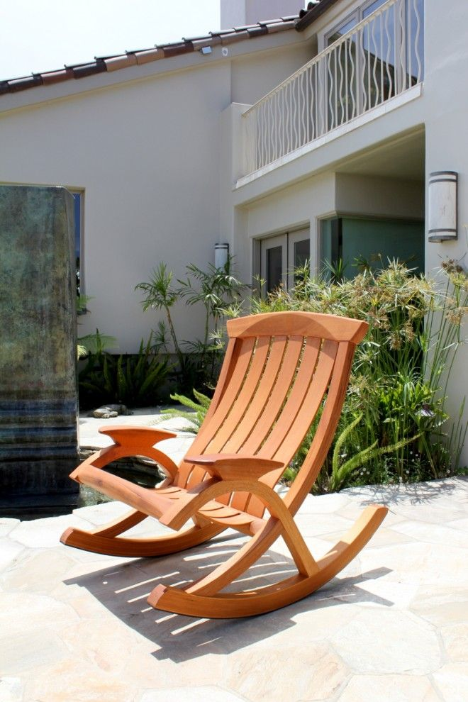 Sunniva Outdoor Rocking Chair By Brian Boggs Chairmakers