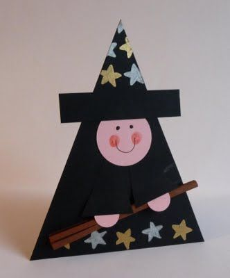 witch craft for halloween (1) Hallowe\u0027en Pinterest Witch craft - easy homemade halloween decorations for kids