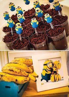 brigadeiros de colher e bananas!