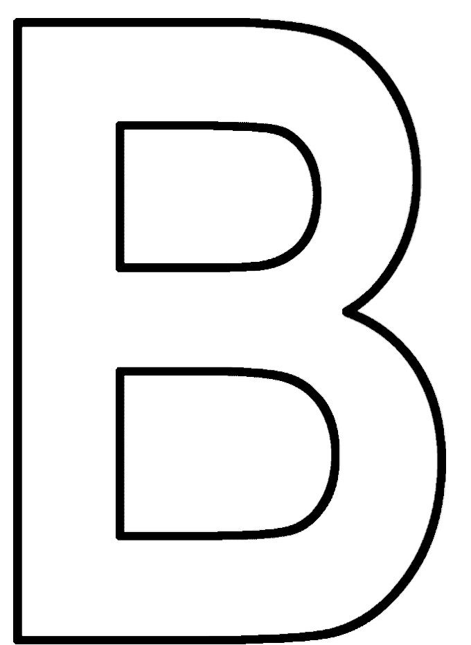 B For Alphabet B Coloring Pages Coloring Pages Alphabet Coloring Alphabet Coloring Pages