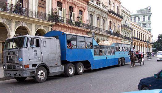 Around The World In 80 Modes Of Transportation Cheapflights Around The Worlds World Cuba
