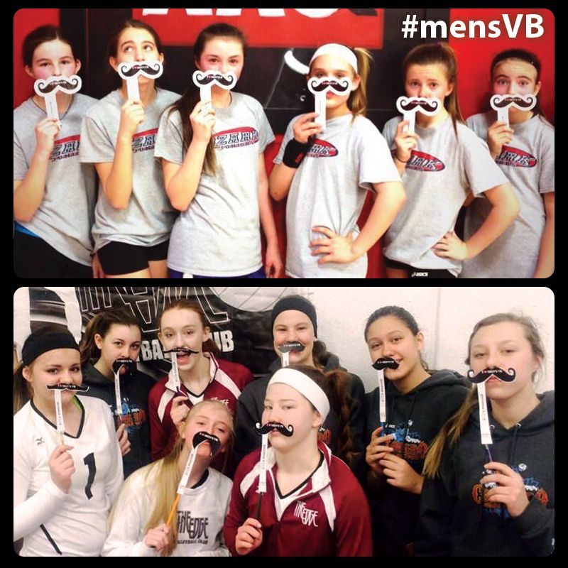 Shout Out To Edge Volleyball Club For Showing Their Support For Men S Volleyball With Their Mensvb Mustaches Click To Get Your T Shirts For Women Women Fan Picture