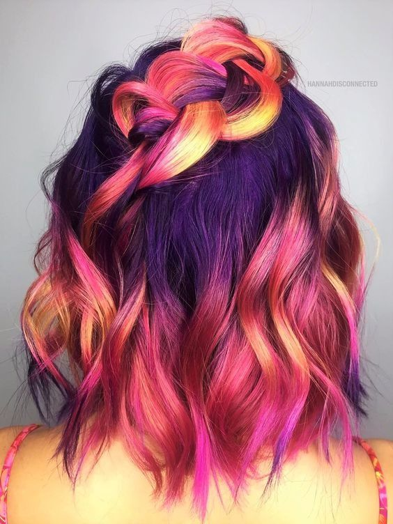 Random Hair Color Beauty - Inspired Beauty