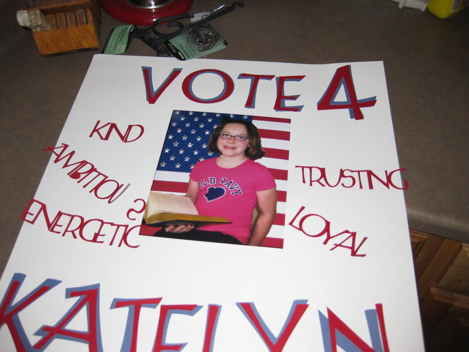 Examples of Campaign Posters elementary School | Growing ...