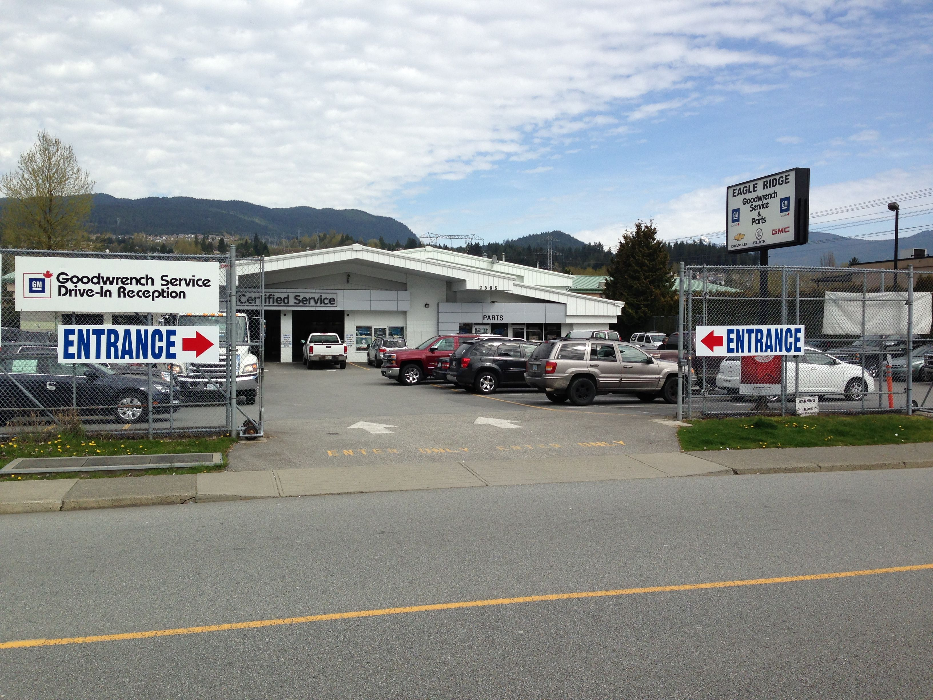 The Eagle Ridge Gm Certified Service Department Http