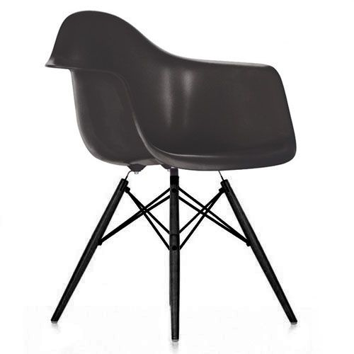 Eames fauteuil daw pieds noirs mobilier pinterest for Mobilier charles eames