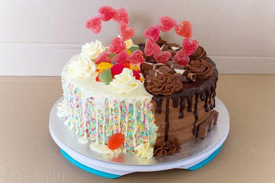 dekorera tårta med strössel