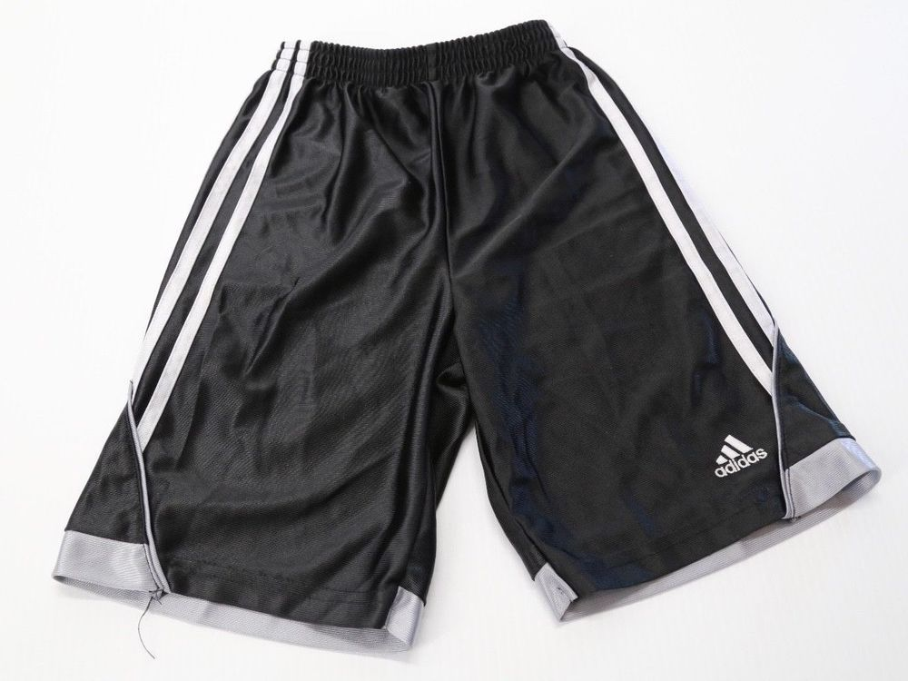 f65023dc1 Kid's Boy's Adidas Black Basketball Shorts Athletic Size 7 #adidas #Everyday