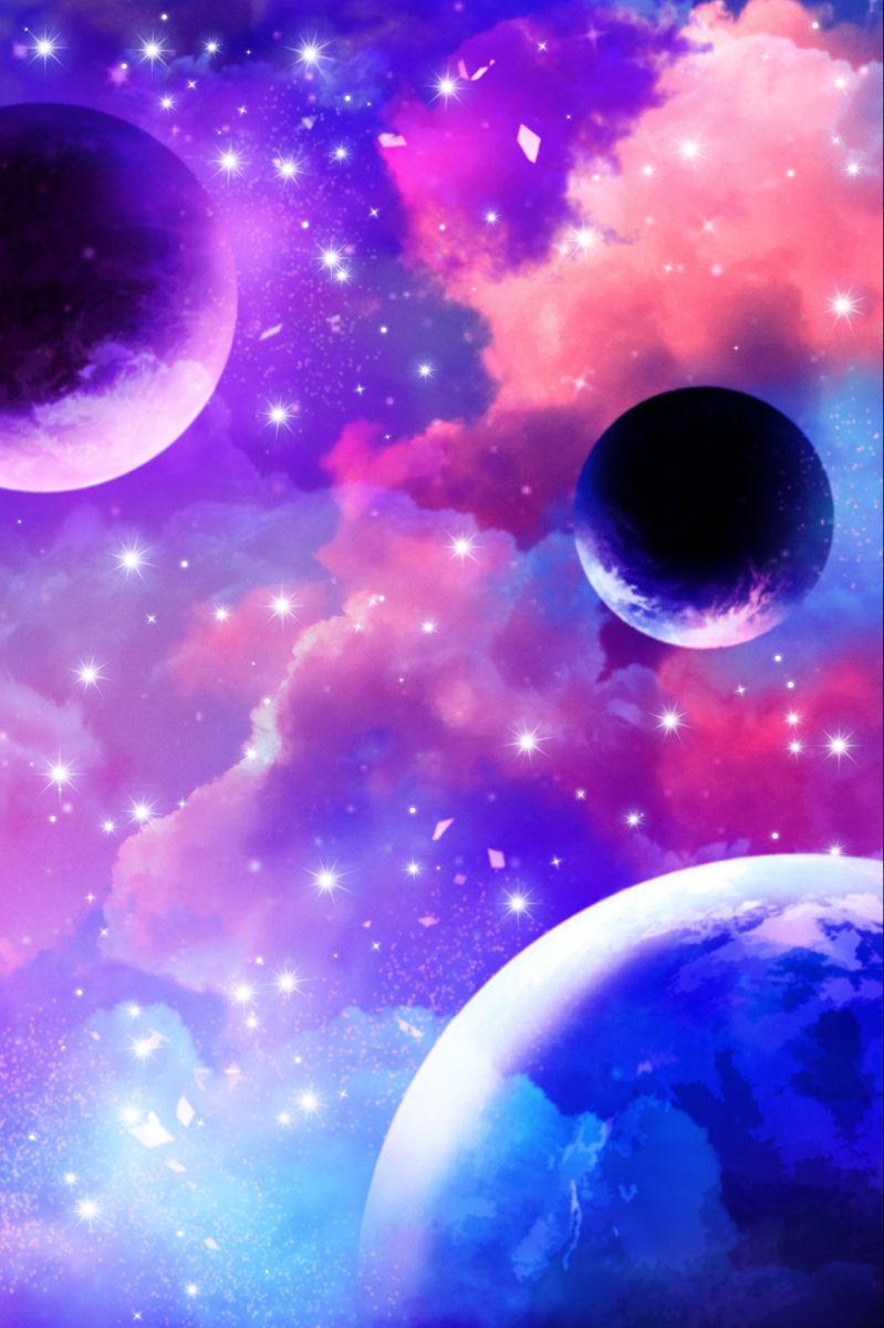 Planetarium Wallpaper Space Galaxy Background Cloud Art