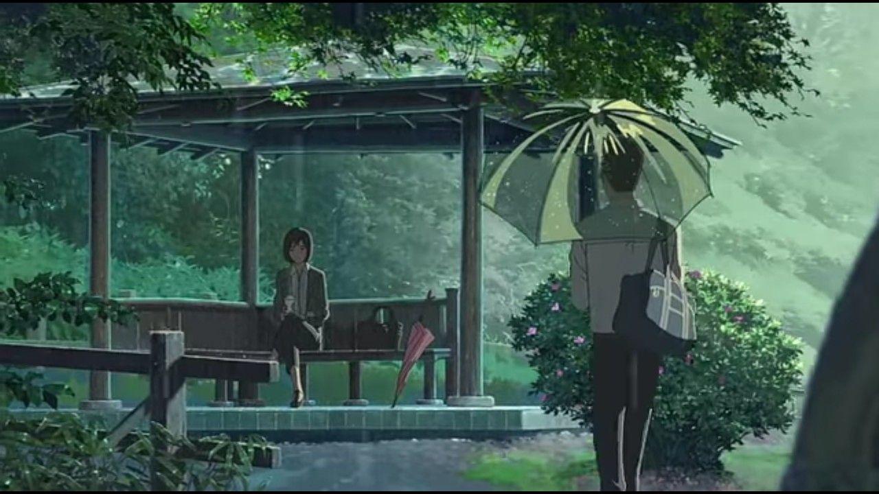 Jardin De Las Palabras Jardin De Las Palabras Peliculas De Anime Cortometraje Animado