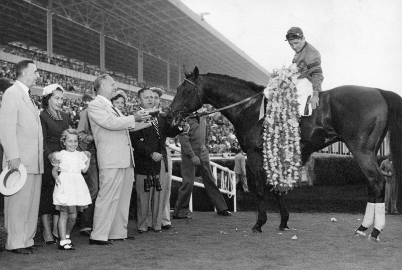 Citation Was Said To Be The Greatest Three Year Old Ever Winner Of The Triple Crown He Was So Dominant Virtual Horse Racing Horses Thoroughbred Horse Racing