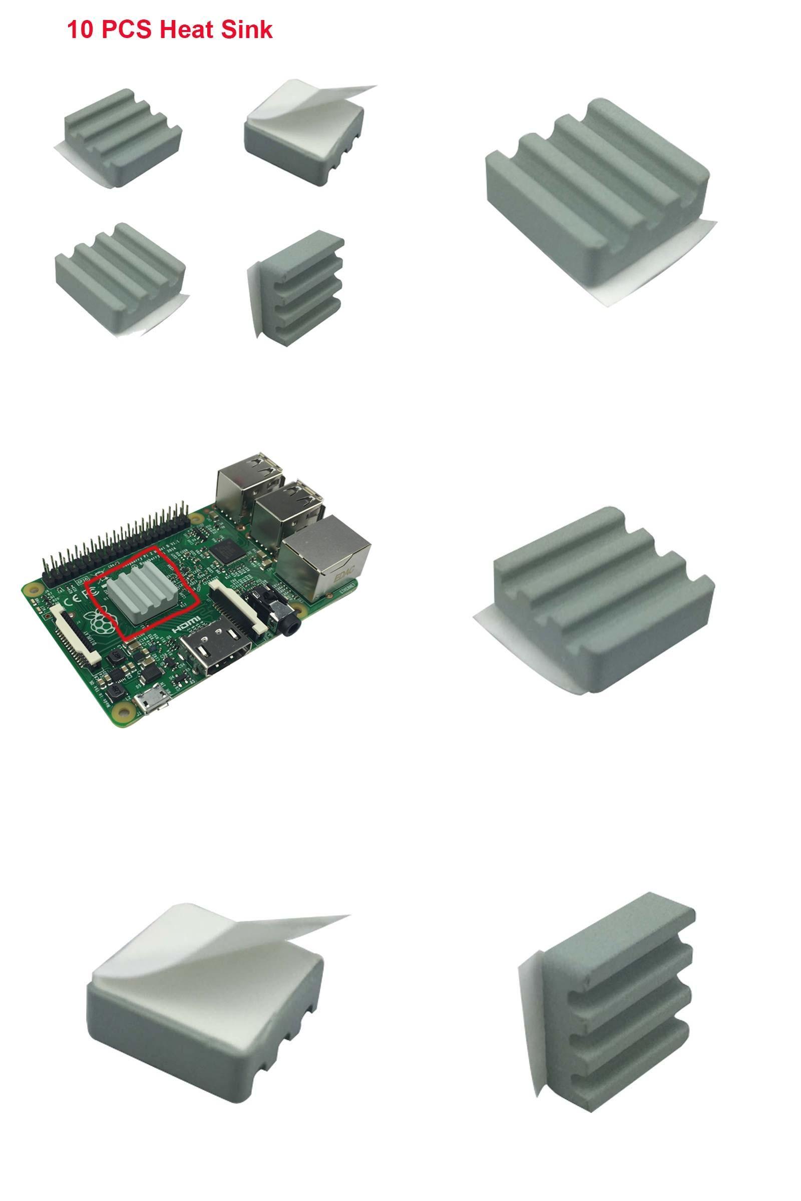 Visit to Buy] 10 PCS Raspberry Pi 3 Heat Sink Ceramic Heat Sinks CPU
