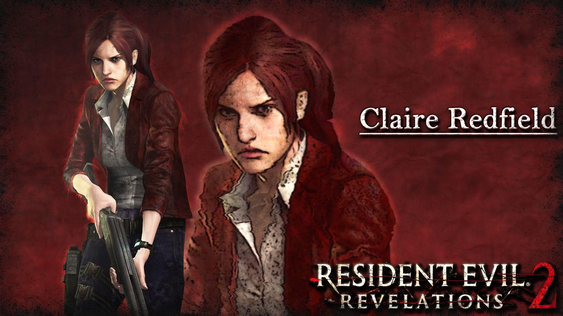 Resident Evil Revelations 2 Claire Redfield Resident