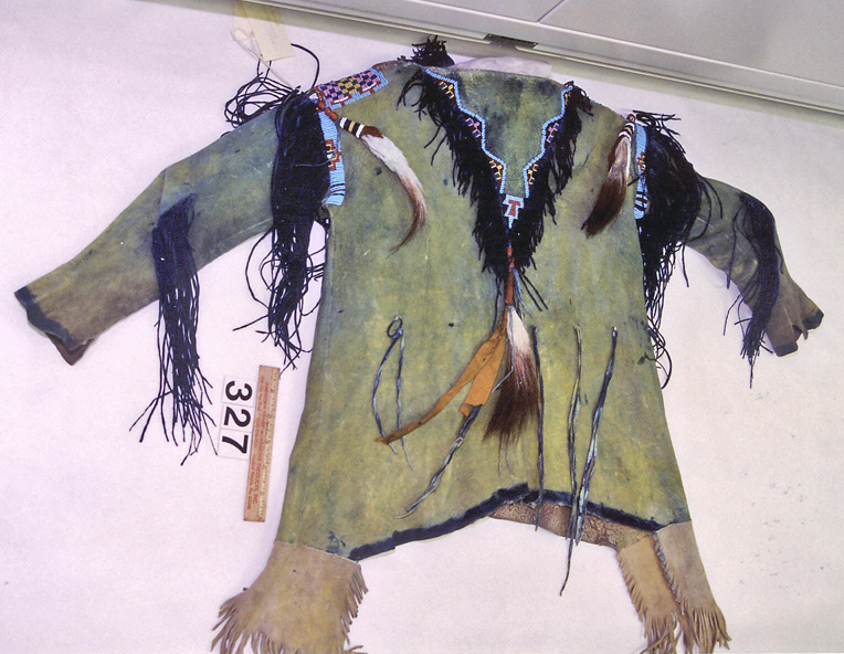 Kiowa shirt. NMNH ac