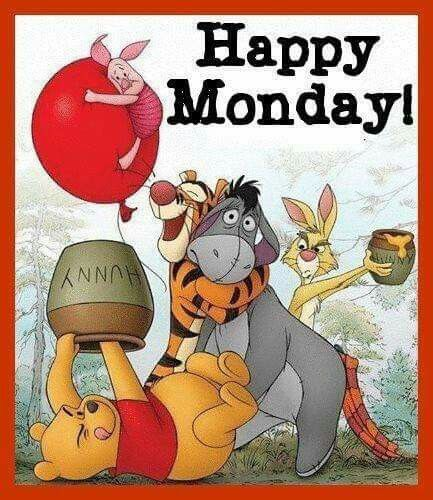 Happy Monday! Pooh and Friends | Winnie the pooh, Disney ...