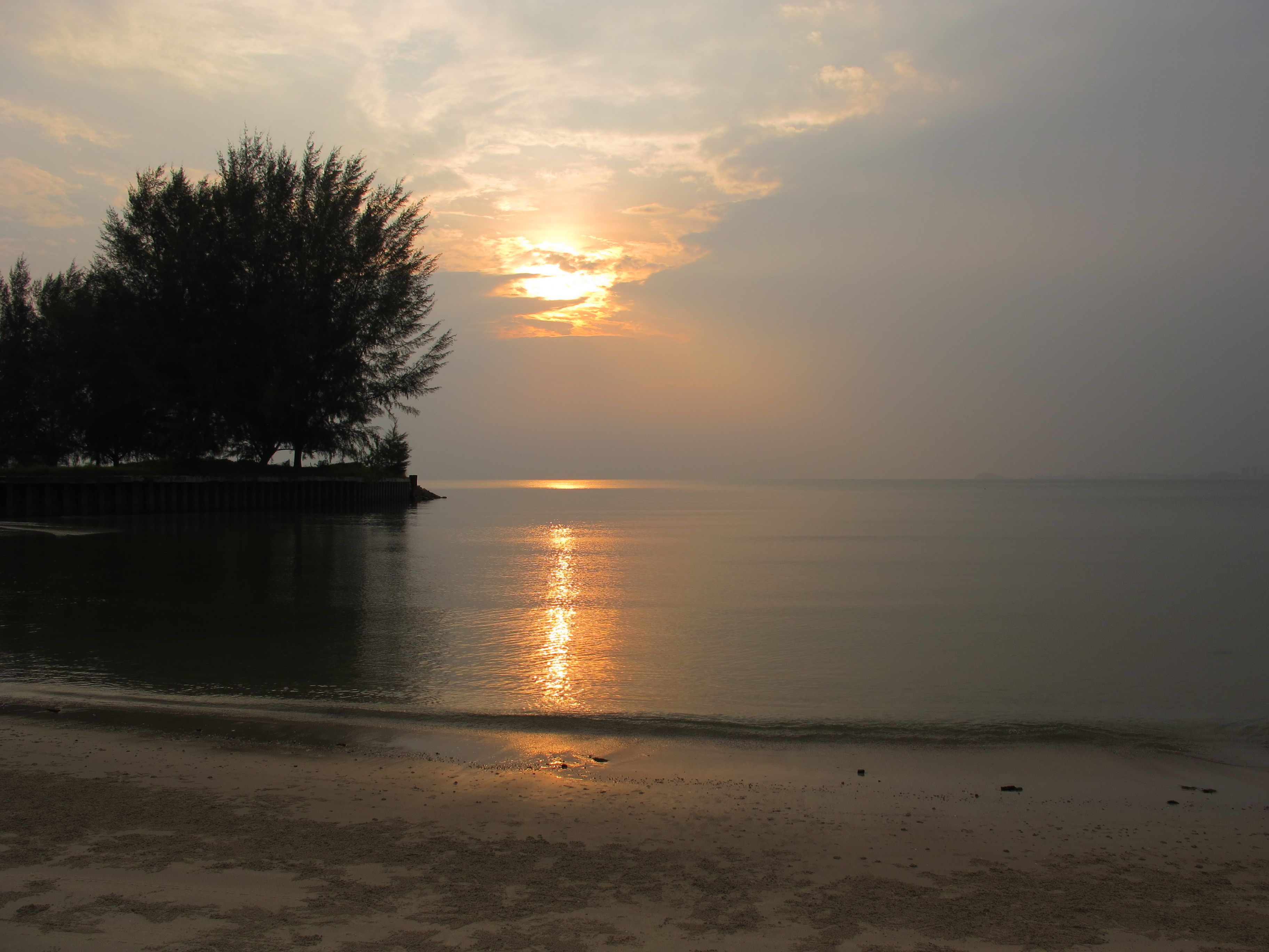 Port Dickson, Malaysia... beautiful sunset