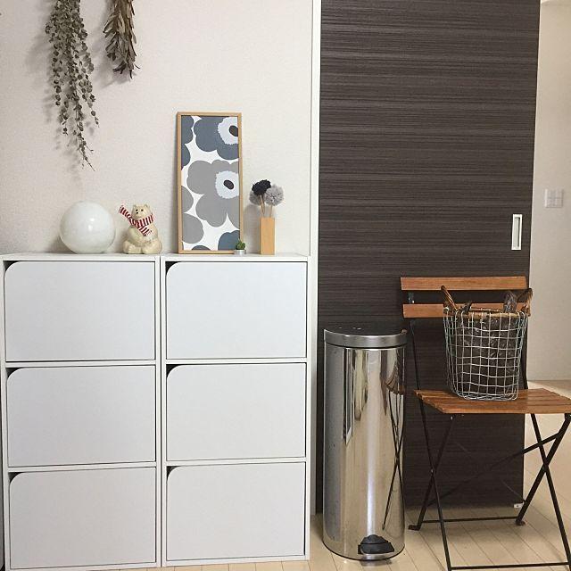 カラーボックスで机も作れる 扉の付け方から収納活用法 カラー