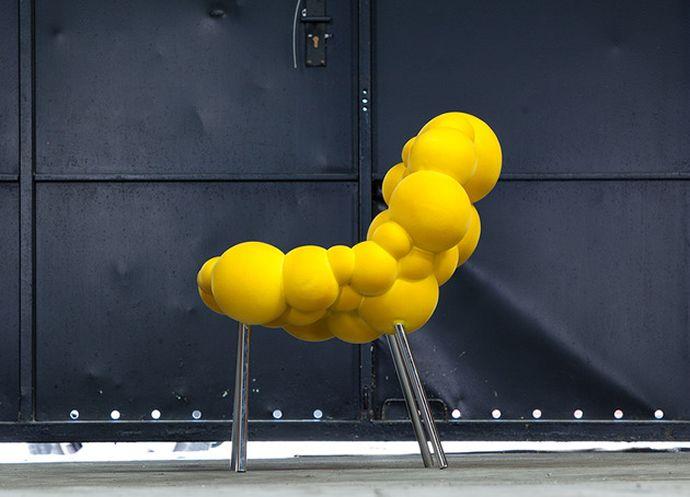 Mutation Series Furniture By Maarten De Ceulaer #colourful