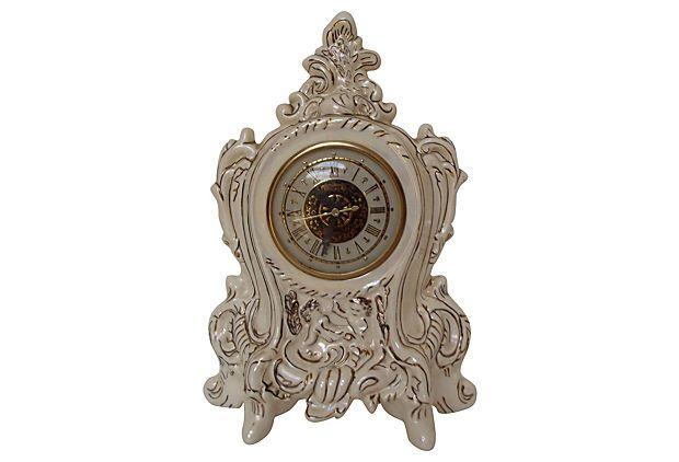 Lusterware Clock on OneKingsLane.com