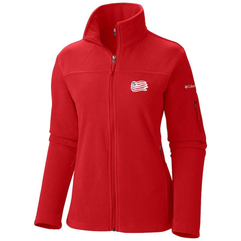 e9af4bdc0 New England Revolution Columbia Women's Give & Go Full-Zip Jacket ...