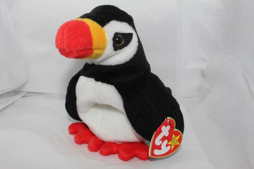 Mac The Cardinal-Retired New 1998 Ty Beanie Baby Babies