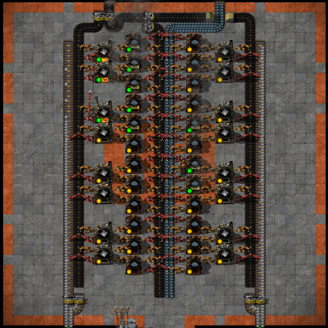 Factorio Science Layout Design Templates - Year of Clean Water