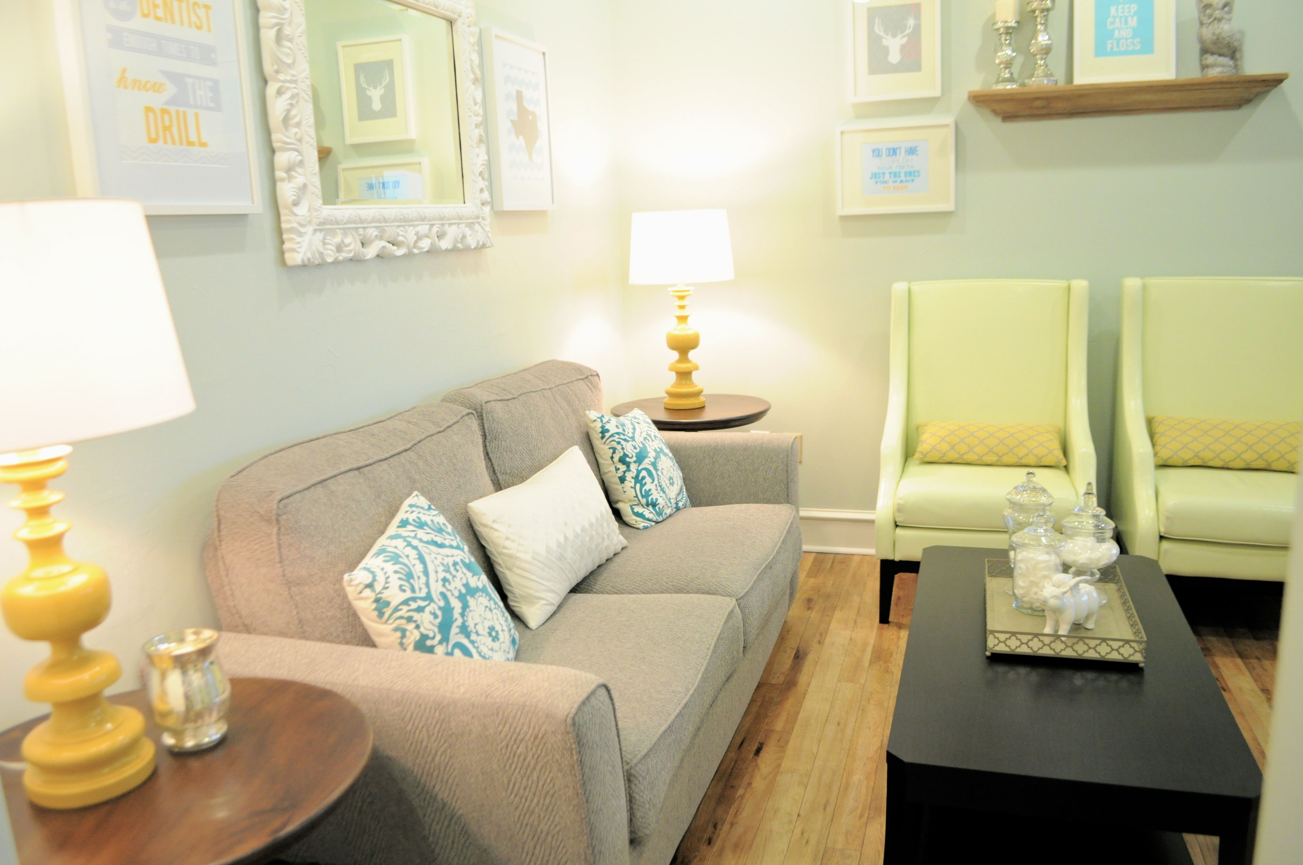 Awesome Office Remodel. Itu0027s So Relaxing And Calm. Not Your Typical Waiting  Room.