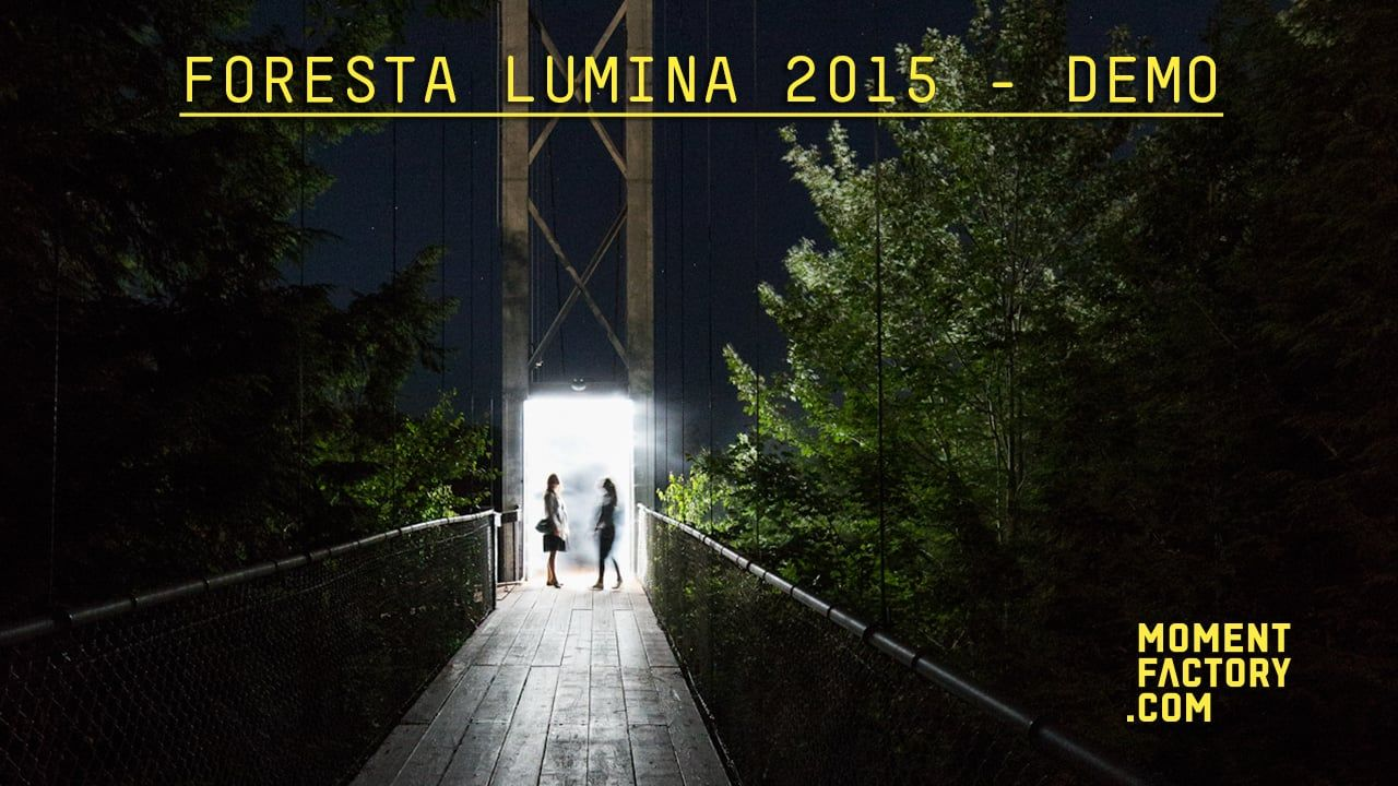 Foresta Lumina 2 : From Park to Illuminated Forest