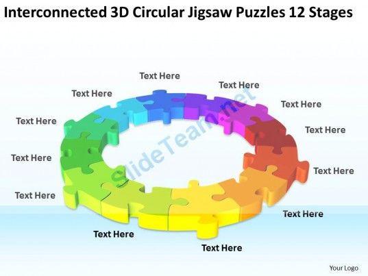 Work flow business process diagram 3d circular jigsaw puzzles 12 work flow business process diagram 3d circular jigsaw puzzles 12 stages powerpoint templates toneelgroepblik Image collections