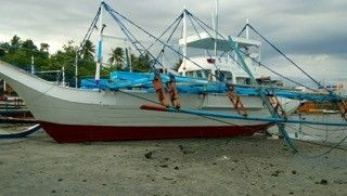 15m Philippines Traditional Outrigger Tuna Fishing Boat Price