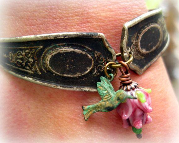 Spoon Jewelry - Silverware Bracelet