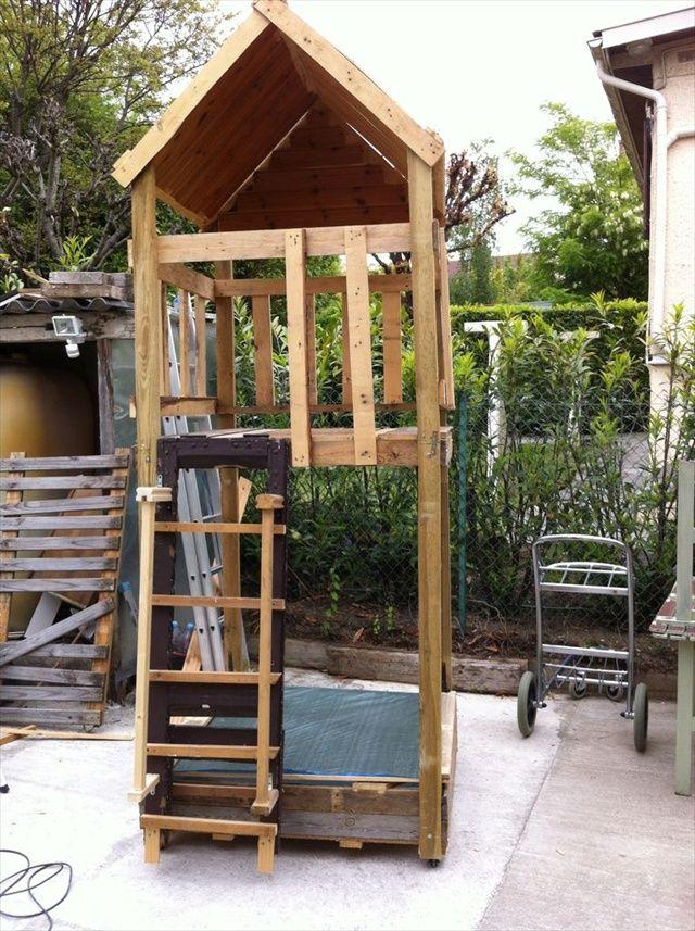 13 Pallet Ideas For Kids Room And Furniture 101 Pallets Pallet