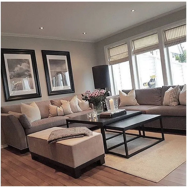 √ 80 inspiring apartment living room decorating ideas that you should try 34 #livingroom #livingroomdesign #apartmentlivingroom – jilumpet.com