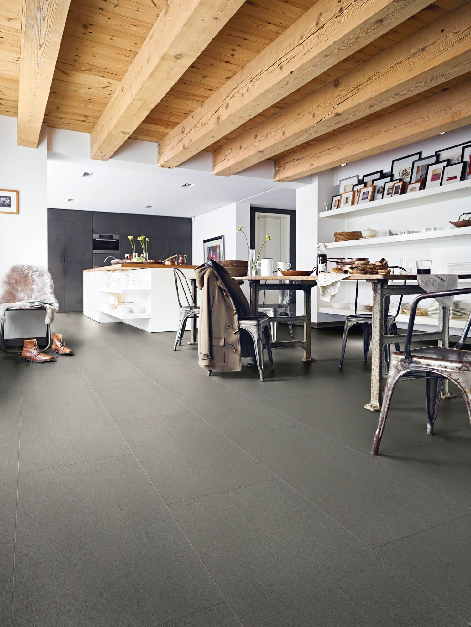 Nadura Slate Grey 6221 Flooring, Aquaguard flooring