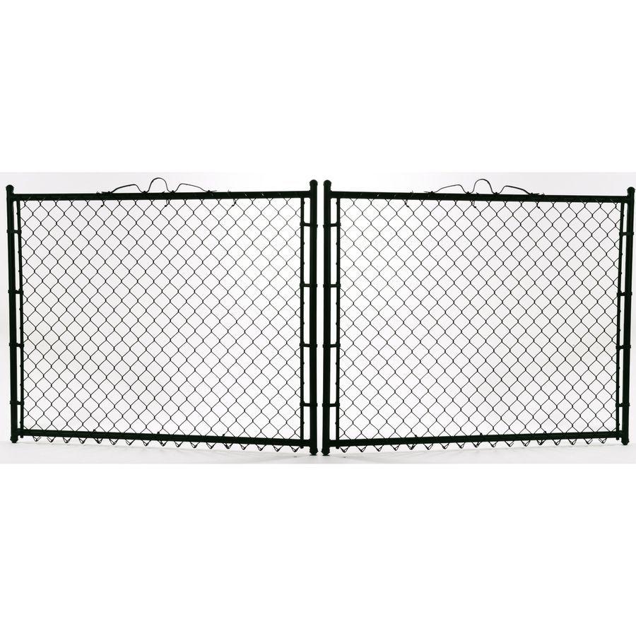 Common 3 Ft X 12 Ft Actual 3 Ft X 11 5 Ft Vinyl Coated Vinyl Coated Steel Chain Li In 2020 Chain Link Fence Gate Black Chain Link Fence Chain Link Fence