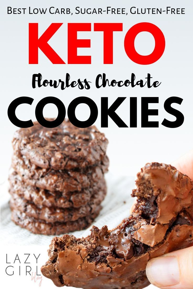 Best Flourless Keto Chocolate Cookies - Lazy Girl