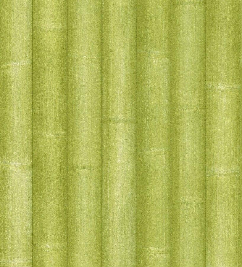 Gm Wohndesign: Papel Pintado Para Pared Cañas De Bambú Japonesas Verde