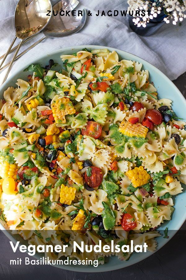 Photo of Summer pasta salad for every grill party – sugar & hunting sausage