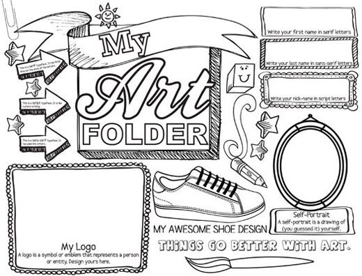 STUDENT ART FOLDER (SET OF 30) from teachersdiscovery.com