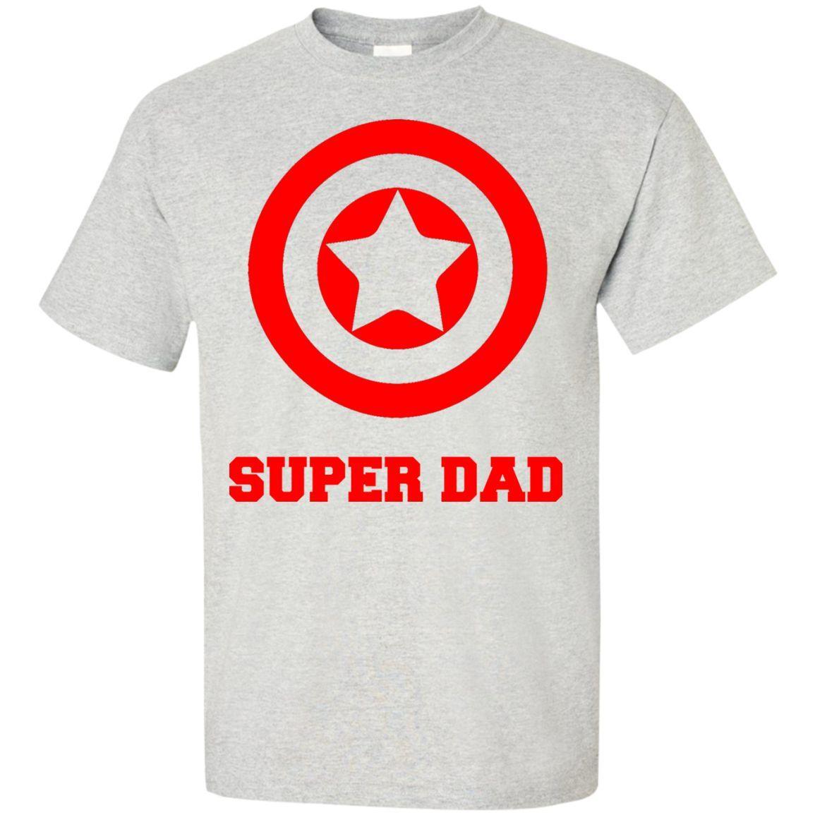 Super Dad Custom Ultra Cotton T Shirt